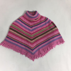 The Children's Place Jackets & Coats - Girl Poncho CHILDRENS PLACE OLD NAVY Sz 3T 4T